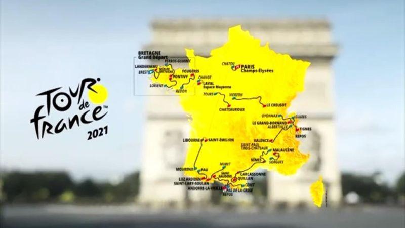 Ventoux im Doppelpack und zwei Zeitfahren: Die Strecke der Tour 2021