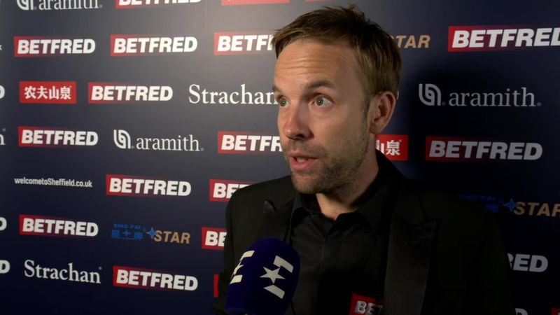 Ali Carter: 'I'm comfort eating a chocolate brownie'