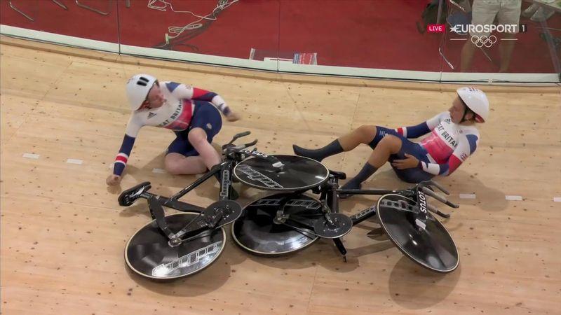 Un record du monde et une chute à l'arrivée : les pistardes britanniques ont tout emporté !