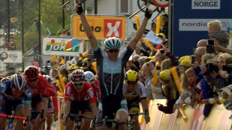 Von Hoff takes victory in first stage