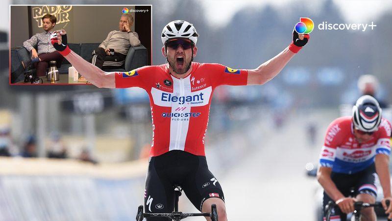 """Radio Tour om Asgreens sejr i Flandern Rundt - """"Man så, at han er en af de stærkeste i verden"""""""