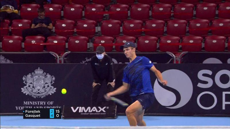 ATP Sofia: Punct frumos câștigat de Forejtek împotriva lui Gasquet