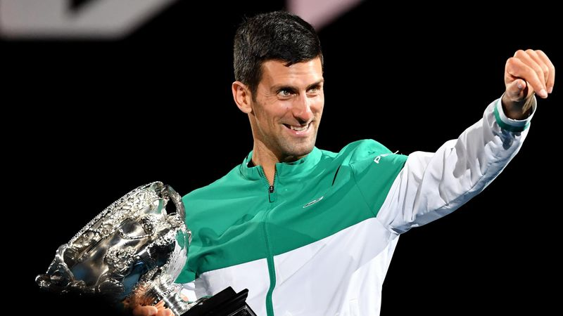 'I'm not going to hand it over' - Djokovic's AO win through his eyes