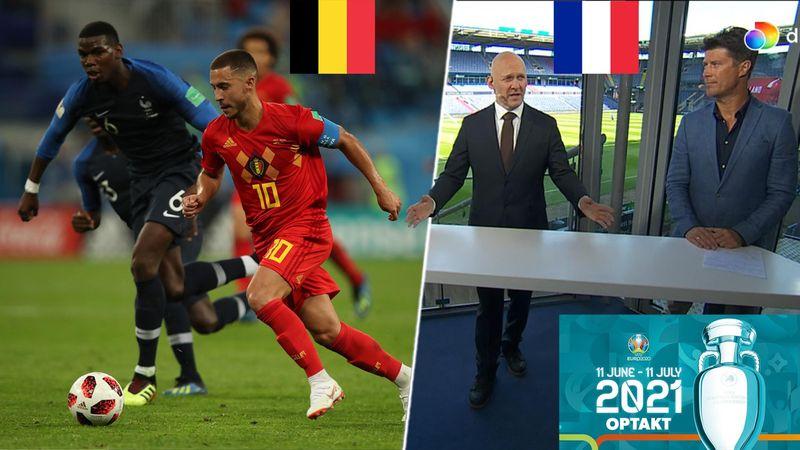 Frankrig eller Belgien? Laudrup og Gravesen argumenterer for største EM-favorit