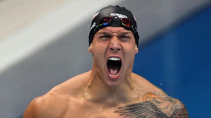 Un record du monde comme point d'exclamation : Dressel s'offre son 5e titre avec le 4x100 4 nages