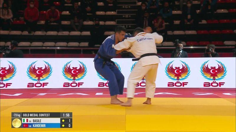 Grand Slam: Fabio Basile, oro nei -73 kg e pass olimpico