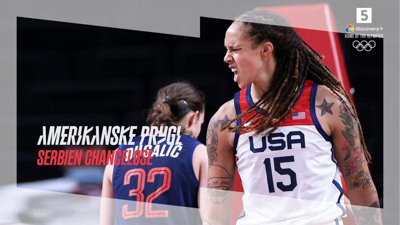 Highlights: USA rundbarberede Serbien med 20 i semifinale