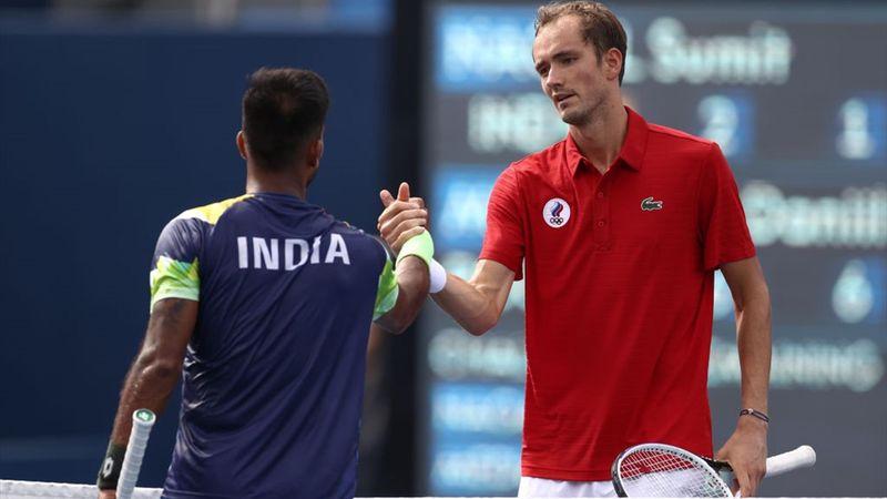 Tokyo 2020 - Medvedev (ROC) ile Nagal (IND) - Tenis – Olimpiyatların Önemli Anları