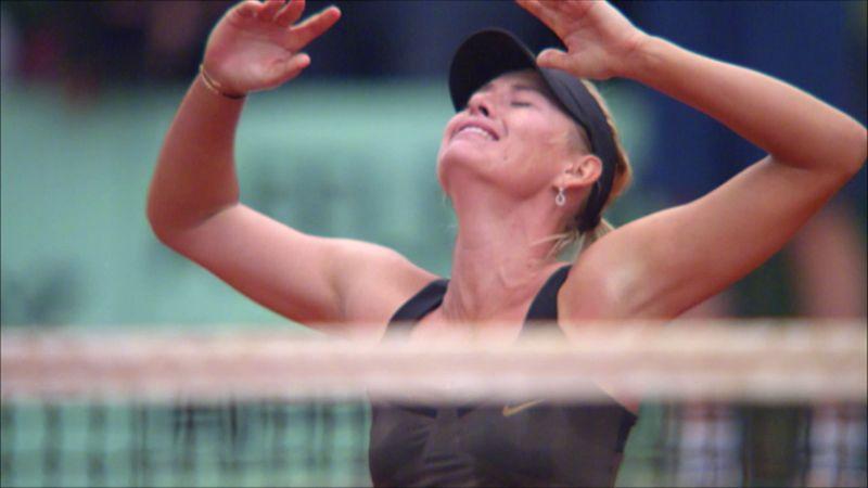 2004 Wimbledon'dan 2014 Rolland Garros'a: Maria Sharapova'nın beş Grand Slam şampiyonluğu