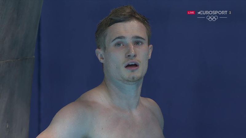 Watch Laugher's final dive as GB star settles for 3m springboard bronze