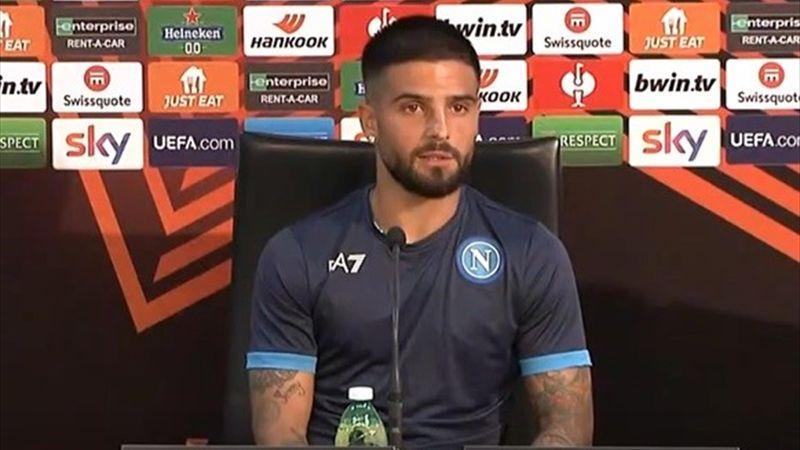 """Insigne: """"È uno dei Napoli più forti in cui ho giocato"""""""