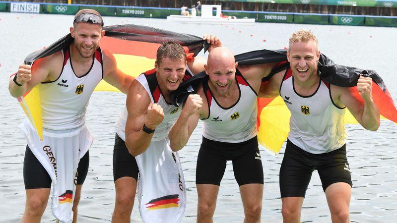 Goldene Gänsehaut-Momente: Alle deutschen Olympiasiege von Tokio