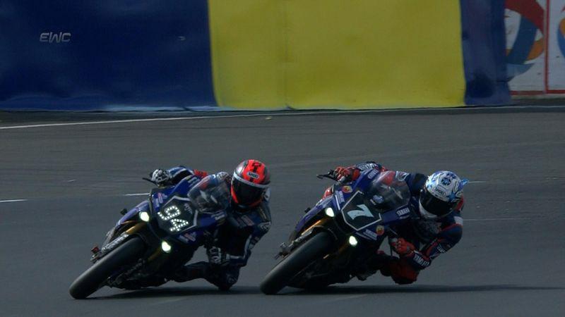 GMT94 Yamaha triumph in epic Le Mans 24 Hour race