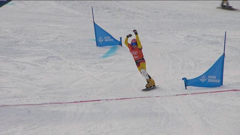 Snowboard, Copa del Mundo: Hofmeister no tiene rival en Blue Mountain