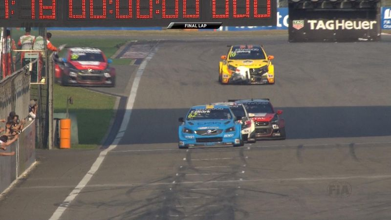 Final lap: Thed Bjork gives Volvo maiden win in Shanghai