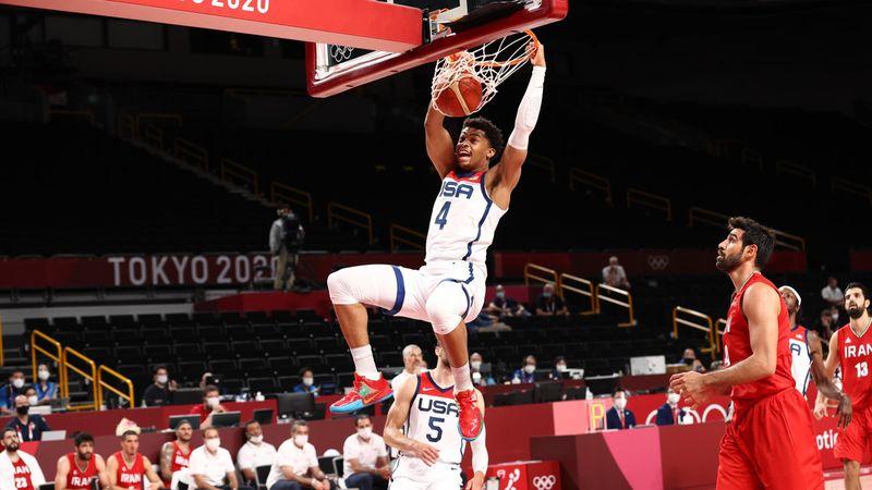 Tokyo 2020 - USA mot Islamic Rep. of Iran - Basketball – OL-høydepunkter
