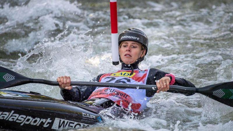 Tokyo 2020 | Eerste heat Martina Wegman kano slalom
