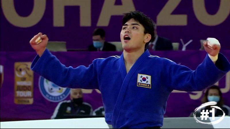 El top-5 del Masters de Doha: ¡Espectacular llave de Won Jin Kim!