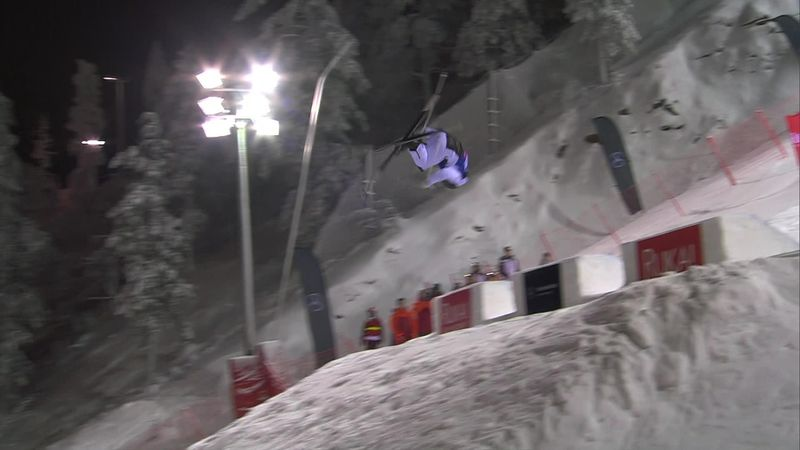 Perrine Lafont sneaks victory in Ruka