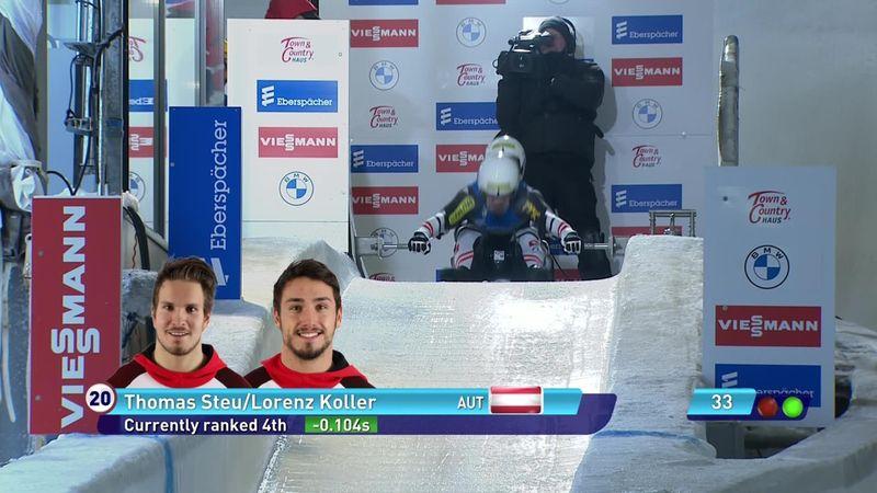 Steu/Koller vincono a Oberhof e si lanciano verso il titolo