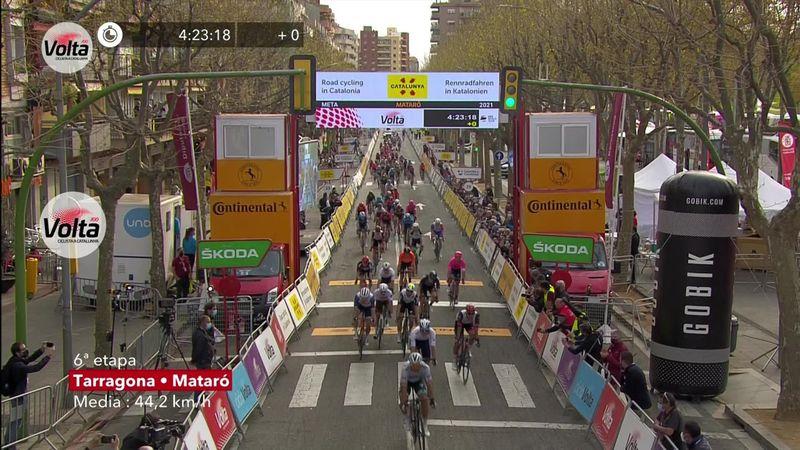 Peter Sagan reloaded! Slovacul, victorie în etapa a 6-a din Turul Cataluniei