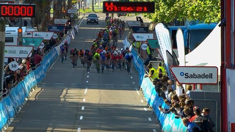 Démare schnappt sich den Sieg in Valencia: Das Finale der 5. Etappe