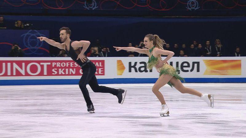 Traumlauf: Weltrekord für Eistanz-Paar Papadakis/Cizeron