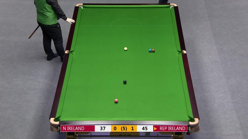 China Open : WCUP China - 3rd Day - Northern Ireland v Rep of Ireland - Nice shot