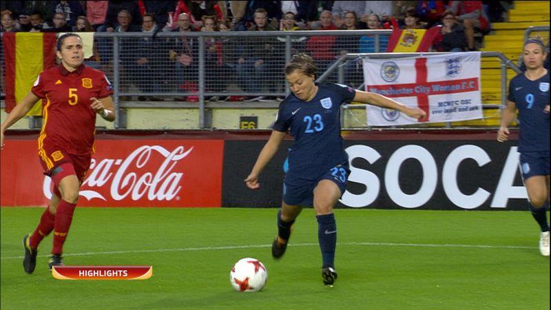 Avrupa Kadınlar Futbol Şampiyonası: İngiltere - İspanya (Özet)