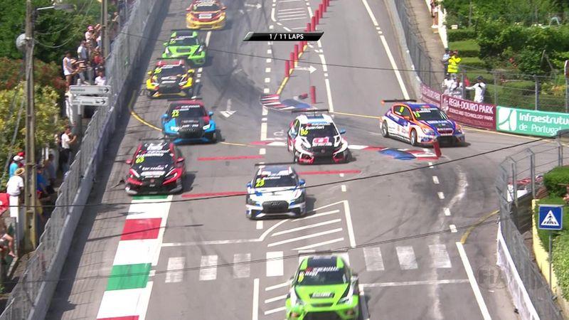WTCR Portugal (Carrera 2): Accidente múltiple en pista
