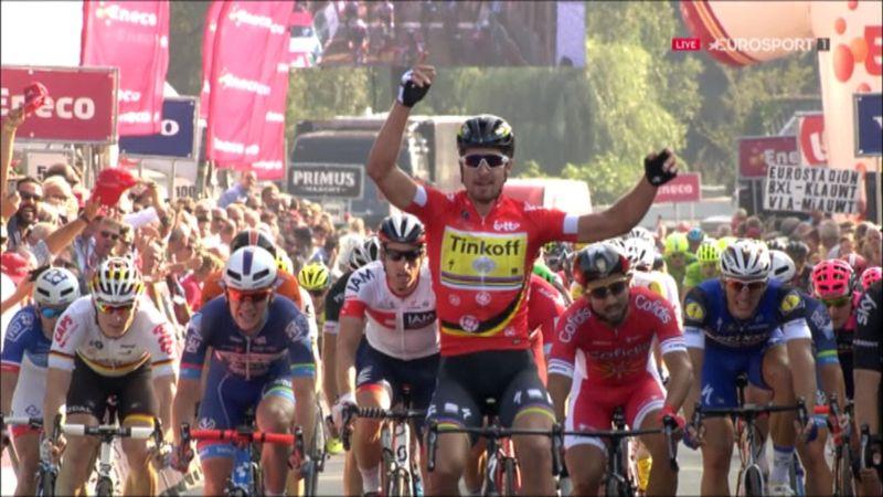 Eneco Tour: 3. etapta zafer Sagan'ın!
