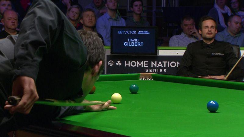 О'Салливан уверенно закрыл Гилберта и обеспечил себе полуфинал против Селби