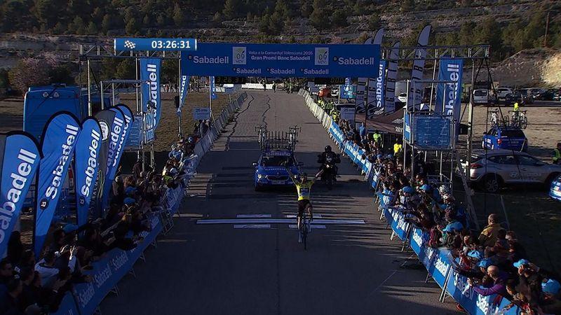 Valencia Turu'nda 4. etabın galibi Poels