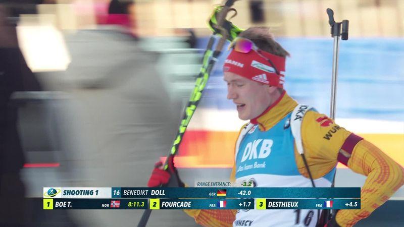 Annecy-Le Grand Bornand, 10 km Sprint a Doll: gli highlights della gara