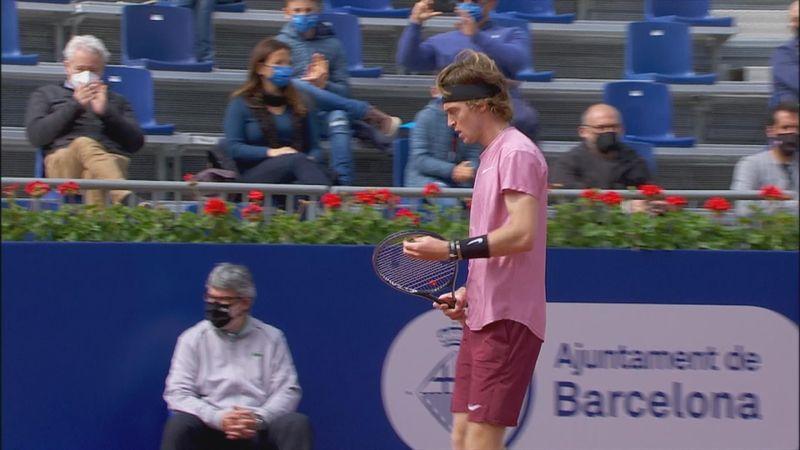 ATP Barcelona: Rezumatul meciului Rublev - Ramos. Rusul, victorie la limită în optimile de finală