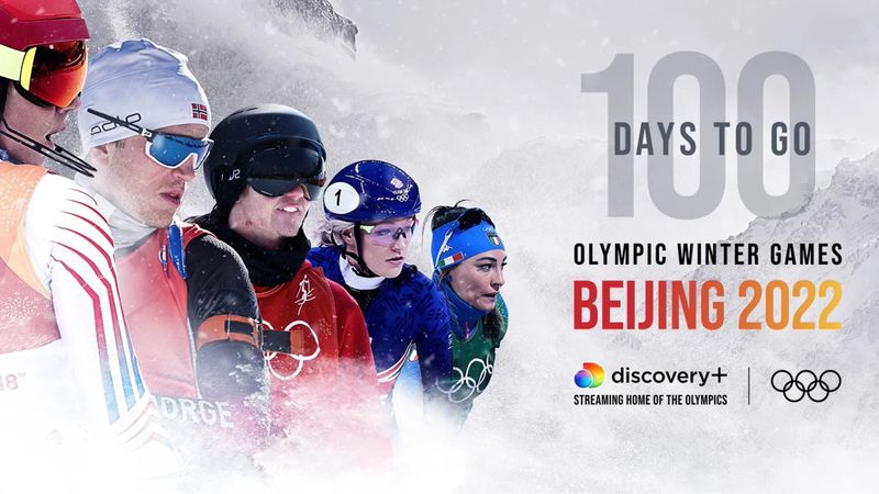 Winter Olympics - The countdown begins with 100 days to go until Beijing 2022