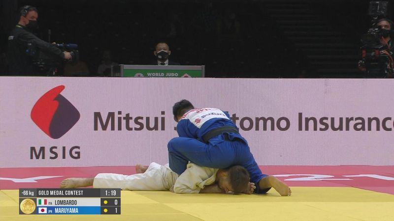 Manuel Lombardo è argento mondiale nei -66 kg