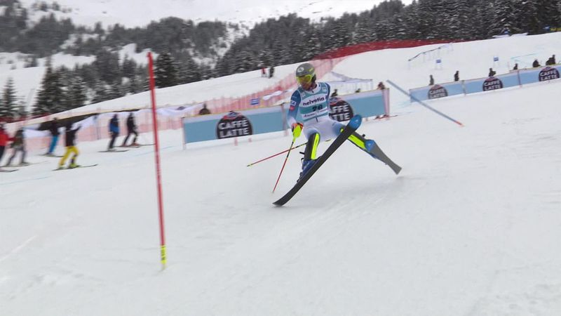 'He can hold his head high' – Junior slalom world champion Ritchie crashes in Lenzerheide