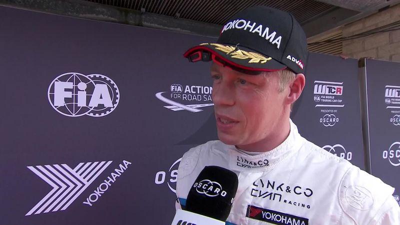 Zandvoort: WTCR - Car racing - Zandvoort - race1 - Interview winner : Bjork