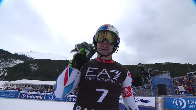 Pinturault wins record-equalling fifth combined World Cup title