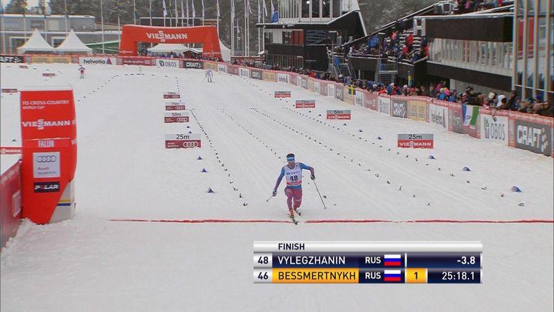 Vylegzhanin, Johaug claim wins in Falun