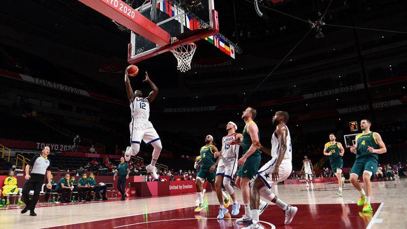 Tokyo 2020 - United States vs Australia - Basketball mEn's Semi-Final - Olympic Highlights