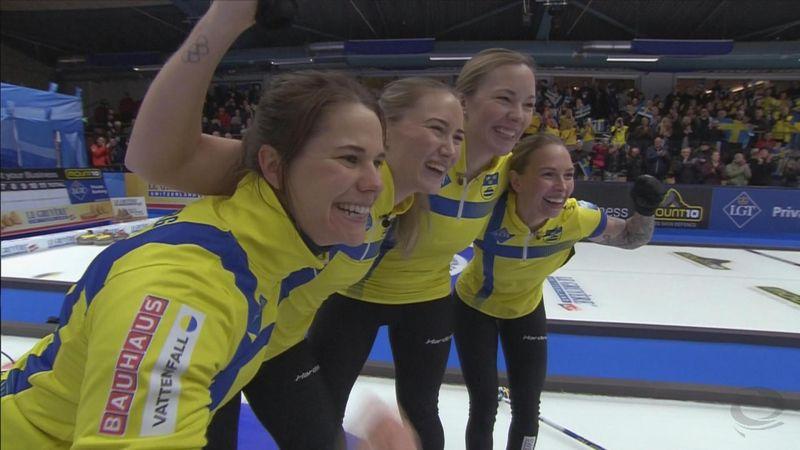 ¡Espectacular! Anna Hasselborg le da el oro del Europeo a Suecia en el último tiro