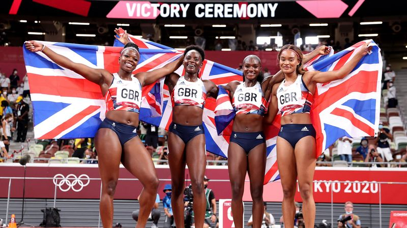 'We've done our country and ourselves proud' - Team GB 4X100m women celebrate bronze