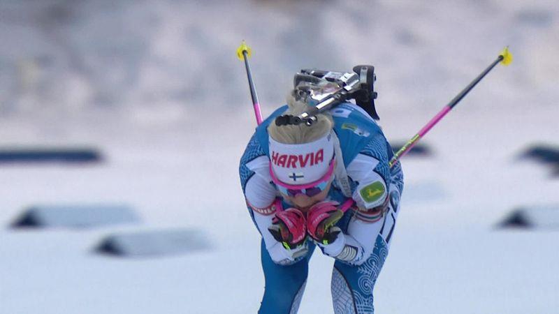 Makarainen wins women's 7.5km sprint in Pokljuka