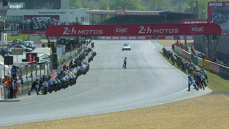 24 Horas de Le Mans: Así fue la mítica salida corriendo a través de la meta