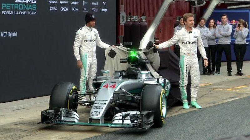 İşte Mercedes'in yeni Formula 1 aracı