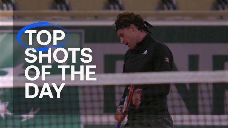 Top 5: Mandagens bedste slag fra Roland-Garros