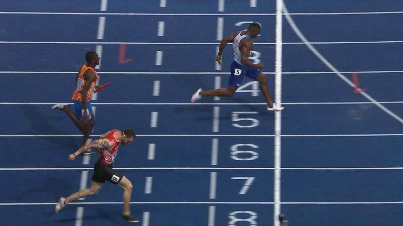 GB men continue sprint dominance with 4x100m relay gold