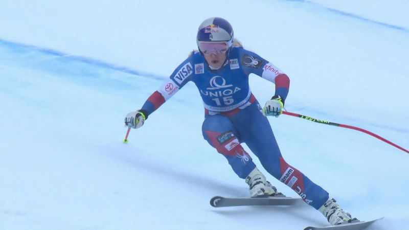 Rusty Vonn struggles to find her downhill form
